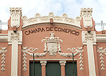 Camara de Comercio building, Melilla autonomous city state Spanish territory in north Africa, Spain