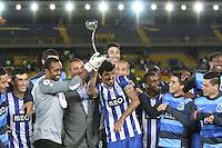 BOGOTÁ -COLOMBIA, 24 -07-2013.    jugadores del FC Porto  celebran su victoria ante  Millonarios 4 goles por cero ,  partido amistoso por la  Copa Euroamericana  , partido jugado en el estadio Nemesio Camacho El Campín de la capital /. Photo: VizzorImage/ Felipe Caicedo/ STAFF