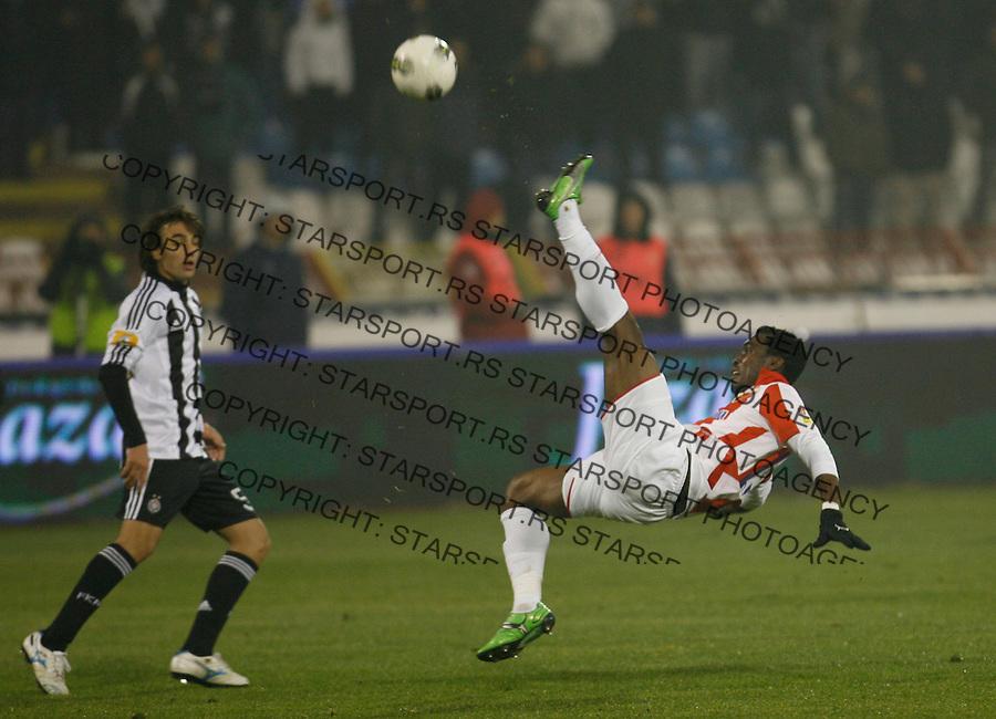 Lee Addy, Sport, Fudbal, Crvena Zvezda  Partizan, 26.11.2011 (photo: Pedja Milosavljevic / thepedja@gmail.com / +381641260959)