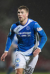 St Johnstone v Hamilton Accies&hellip;28.01.17     SPFL    McDiarmid Park<br />David Wotherspoon<br />Picture by Graeme Hart.<br />Copyright Perthshire Picture Agency<br />Tel: 01738 623350  Mobile: 07990 594431