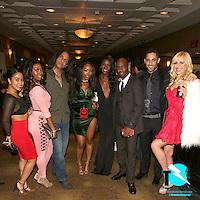Loni Legend, Skyler Nicole, Shelley Bartolini, Chanell Heart, Ana Foxxx, Chris Cock, Damon Dice, Summer Day at XBiz Awards, Westin Bonaventure Hotel, Los Angeles, CA, Thursday January 12, 2017.