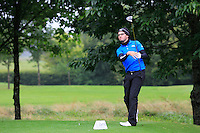 Ruairi Kennelly (Portmarnock) on the 3rd tee during round 1 of The Mullingar Scratch Cup in Mullingar Golf Club on Sunday 3rd August 2014.<br /> Picture:  Thos Caffrey / www.golffile.ie