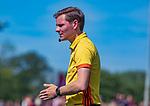 DEN HAAG -  Daniel Veerman  tijdens  de eerste Play out wedstrijd hoofdklasse heren ,  HDM-HCKZ (1-2) . COPYRIGHT KOEN SUYK