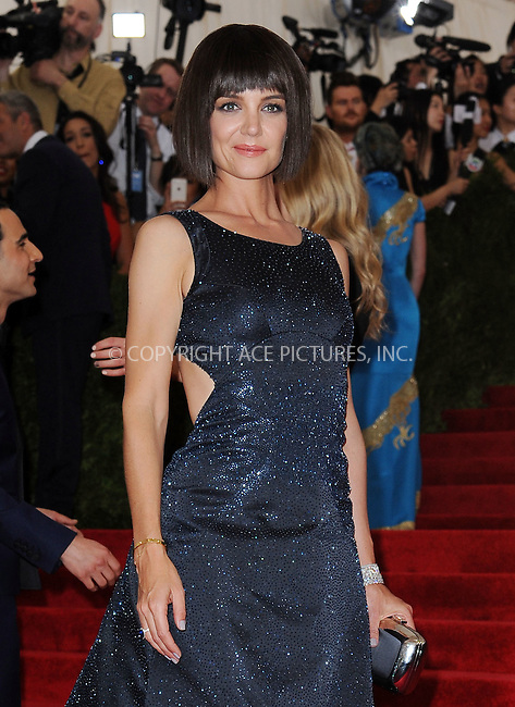 WWW.ACEPIXS.COM<br /> <br /> May 4, 2015, New York City<br /> <br /> Katie Holmes attending the Costume Institute Benefit Gala celebrating the opening of China: Through the Looking Glass at The Metropolitan Museum of Art on May 4, 2015 in New York City.<br /> <br /> By Line: Kristin Callahan/ACE Pictures<br /> <br /> <br /> ACE Pictures, Inc.<br /> tel: 646 769 0430<br /> Email: info@acepixs.com<br /> www.acepixs.com