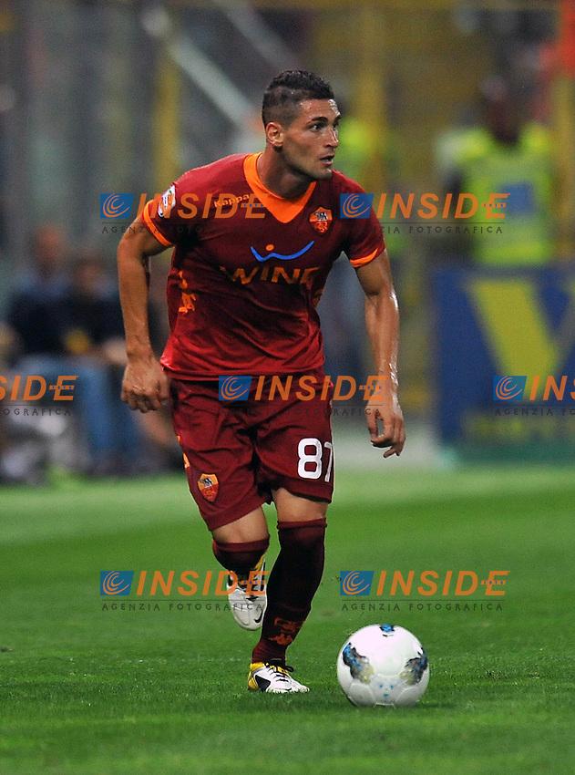 "Aleandro ROSI (Roma).Parma 25/9/2011 Stadio ""Ennio Tardini"".Serie A 2011/2012.Football Calcio Parma Vs Roma.Foto Insidefoto Alessandro Sabattini."