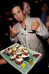 8-time Olympic medalist, Apolo Ohno celebrates his birthday at TAO, May 21, 2010