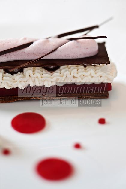 Europe/France/Poitou-Charentes/86/Vienne/St Benoît : restaurant: Le Tiramisu -  Recette de Richard Toix, du restaurant Passions et Gourmandises,