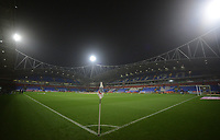 A general view of University of Bolton Stadium, home of Bolton Wanderers<br /> <br /> Photographer Kevin Barnes/CameraSport<br /> <br /> The EFL Sky Bet League One - Bolton Wanderers v Blackpool - Monday 7th October 2019 - University of Bolton Stadium - Bolton<br /> <br /> World Copyright © 2019 CameraSport. All rights reserved. 43 Linden Ave. Countesthorpe. Leicester. England. LE8 5PG - Tel: +44 (0) 116 277 4147 - admin@camerasport.com - www.camerasport.com