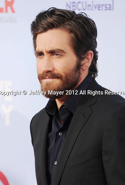 PASADENA, CA - SEPTEMBER 16: Jake Gyllenhaal arrives at the 2012 NCLR ALMA Awards at Pasadena Civic Auditorium on September 16, 2012 in Pasadena, California.