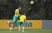 SÃO PAULO,SP,29.07.2016 - FUTEBOL-PALMEIRAS - Roger Carvalho durante treino na Academia de Futebol na Barra Funda zona oeste de São Paulo, na tarde desta sexta-feira (29). (Foto : Marcio Ribeiro / Brazil Photo Press)