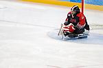 Kazuhiro Takahashi  (JPN), <br /> MARCH 13, 2018 - Para Ice Hockey : <br /> Qualification round between Czech Republic 3-0 Japan <br /> at Gangneung Hockey Centre during the PyeongChang 2018 Paralympics Winter Games in Pyeongchang, South Korea. <br /> (Photo by Yusuke Nakanishi/AFLO)