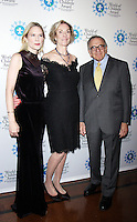 NEW YORK, NY-October 27: Stephanie March, Kay Isaacson-Leibowitz, Harry Leibowitz at  World of Children Awards 2016 at  583 Park Avenue in New York.October 27, 2016. Credit:RW/MediaPunch