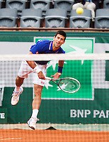 30-05-13, Tennis, France, Paris, Roland Garros,  Novak Djokovic