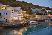 Levanzo by night, Egadi islands