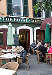 The Royal Calpe pub, Gibraltar, British overseas territory in southern Europe