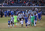 Images from the inaugural friendly match between Reno 1868 FC and the San Jose Earthquakes at Greater Nevada Field in Reno, Nev., on Saturday, Feb. 18, 2017. San Jose won 1-0. <br /> Photo by Cathleen Allison/Nevada Photo Source