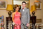 Enjoying the Gaelcholáiste Chiarraí Debs ball at the Brandon Hotel on Saturday were l-r  Erin O'Driscoll and Aaron Deely.
