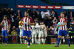 Atletico de Madrid's Saul Iniguez Gabi Fernandez Real Madrid's Mateo Kovacic Luka Modric Raphael Varane Daniel Carvajal Lucas Vazquez Cristiano Ronaldo during the match of La Liga between Atletico de Madrid and Real Madrid at Vicente Calderon Stadium  in Madrid , Spain. November 19, 2016. (ALTERPHOTOS/Rodrigo Jimenez)