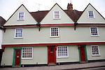 Buildings in the Dutch quarter, Colchester, Essex