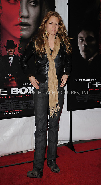 WWW.ACEPIXS.COM . . . . . ....November 4 2009, New York City....Cody Horn arriving at the premiere of 'The Box' at the AMC Lincoln Square on November 4, 2009 in New York City.....Please byline: KRISTIN CALLAHAN - ACEPIXS.COM.. . . . . . ..Ace Pictures, Inc:  ..tel: (212) 243 8787 or (646) 769 0430..e-mail: info@acepixs.com..web: http://www.acepixs.com