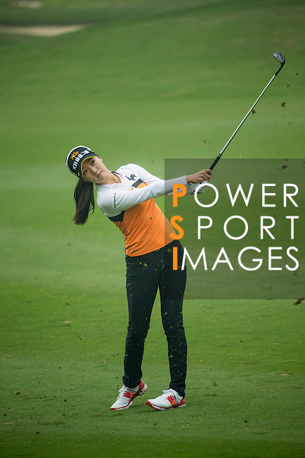Ji Hyun Oh of South Korea plays during Round 4 of the World Ladies Championship 2016 on 13 March 2016 at Mission Hills Olazabal Golf Course in Dongguan, China. Photo by Victor Fraile / Power Sport Images