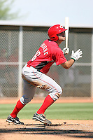 Ryan LaMarre - Cincinnati Reds - 2010 Instructional League.Photo by:  Bill Mitchell/Four Seam Images..