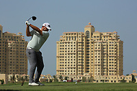 Jack Senior (ENG) during the final round of the Ras Al Khaimah Challenge Tour Grand Final played at Al Hamra Golf Club, Ras Al Khaimah, UAE. 03/11/2018<br /> Picture: Golffile | Phil Inglis<br /> <br /> All photo usage must carry mandatory copyright credit (&copy; Golffile | Phil Inglis)