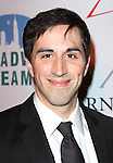 Matthew Scott attending the Broadway Dreams Foundation's 'Champagne & Caroling Gala' at Celsius at Bryant Park, New York on December 10, 2012