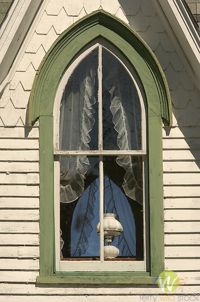 window in Eagles Mere.Sullivan County