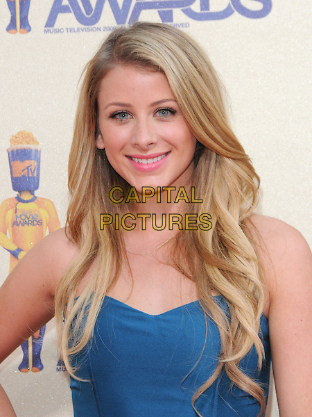 "LAUREN ""LO"" BOSWORTH.The 2009 MTV Movie Awards held at Universal Ampitheatre  in Universal City, California, USA..May 31st, 2009 .headshot portrait blue strapless .CAP/DVS.©Debbie VanStory/Capital Pictures."