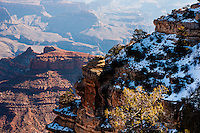 United States, Arizona, Grand Canyon. View from Yaki Point. This point is not accessible with a private vehicle.