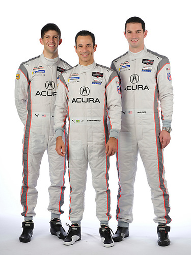 #7 Acura Team Penske Acura DPi, DPi: Helio Castroneves, Ricky Taylor, Alexander Rossi  portrait