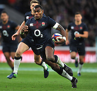 Old Mutual Wealth Series match between Englands v Fiji at Twickenham Stadium, Twickenham , England o