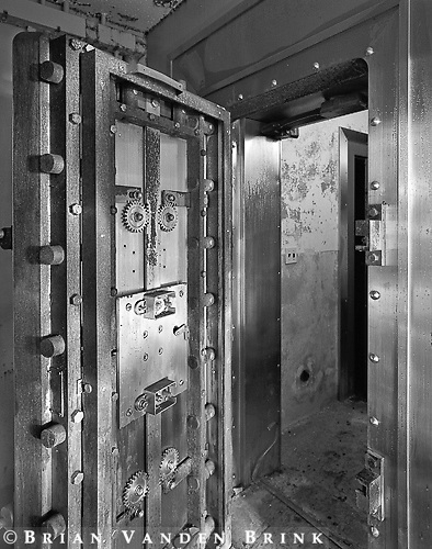Entrance to plutonium storage vault
