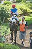 Jindrich Fabris before The Longines World Fegentri Championship for Gentlemen Riders at Delaware Park on 9/6/14