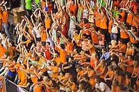 September 13, 2014, Netherlands, Amsterdam, Ziggo Dome, Davis Cup Netherlands-Croatia, Doubles, supporters<br /> Photo: Tennisimages/Henk Koster