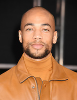 """HOLLYWOOD, CA - OCTOBER 24: Kendrick Sampson attends the premiere of Netflix's """"The Irishman"""" at TCL Chinese Theatre on October 24, 2019 in Hollywood, California.<br /> CAP/ROT/TM<br /> ©TM/ROT/Capital Pictures"""