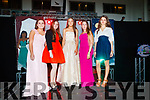 Alice Nolei, Angela Dineen, Tara Byrne, Clodagh O'Sullivan and Diana Meriakri, pictured at Mercy Mounthawk Secondary School Fashion Show held at the School Gym on Wednesday last.