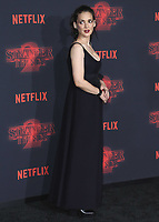 """WESTWOOD - OCTOBER 26:  Winona Ryder  at the premiere of Netflix's """"Stranger Things"""" Season 2 at the Regency Village Theatre on October 26, 2017 in Westwood, California. (Photo by Scott Kirkland/PictureGroup)"""
