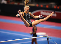 6/19/08 - Photo by John Cheng for USA Gymnastics.  Women Podium Training in Wachovia Center in Philadelphia.