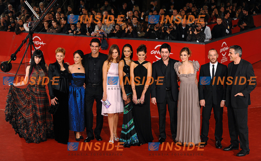 Cast<br /> Third edition of the Rome International film festival<br /> Roma 25/10/2008 <br /> Red Carpet  'un Gioco da Ragazze&quot;<br /> Photo Andrea Staccioli Insidefoto
