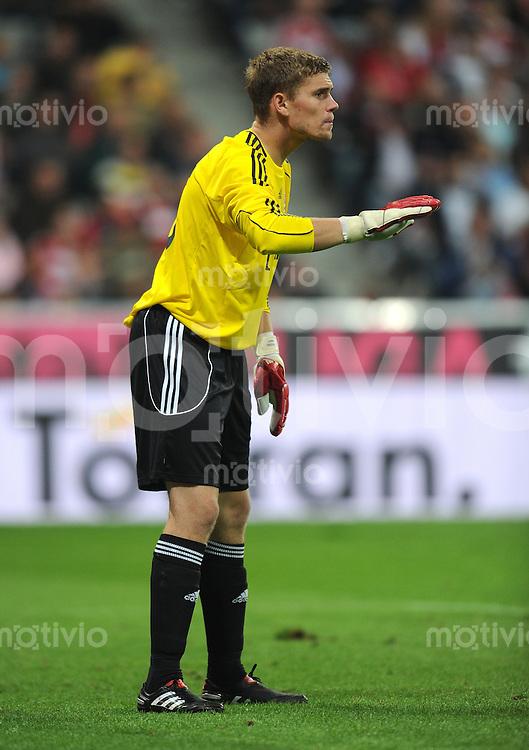 FUSSBALL INTERNATIONAL  SAISON 2010/2011    FC Bayern  Muenchen  - CF Real Madrid 13.08.2010 Thomas Kraft (FC Bayern Muenchen)