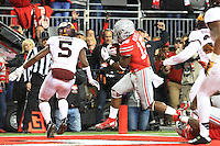 The Ohio State University Football team compete against the University of Minnesota. Columbus, OH, November 7, 2015