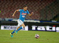 Jorginho  during the  italian serie a soccer match,between SSC Napoli and   Bologna FC    at  the San  Paolo   stadium in Naples  Italy , September 18, 2016