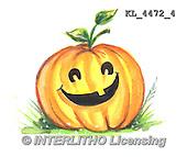 Interlitho, STILL LIFE STILLLEBEN, NATURALEZA MORTA, paintings+++++,KL4472/4,#i# stickers,halloween, pumpkin,