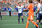 The Hague, Netherlands, June 13: Ashley Jackson #7 of England reacts to a play during the field hockey semi-final match (Men) between The Netherlands and England on June 13, 2014 during the World Cup 2014 at Kyocera Stadium in The Hague, Netherlands. Final score 1-0 (1-0)  (Photo by Dirk Markgraf / www.265-images.com) *** Local caption ***
