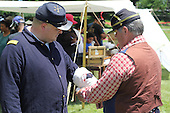 Parcicipants were transported back in time to the 1869 Battle of Nashville Saturday afternoon as the DuSable Museum hosted the 2nd annual Civil War Family Day in Washington Park.<br /> <br /> A Union troop got his wounds bandaged at an army medical facitlty.