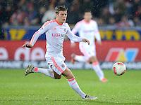 FUSSBALL   1. BUNDESLIGA   SAISON 2012/2013  15. SPIELTAG     SC Freiburg - FC Bayern Muenchen      28.11.2012 Toni Kroos (FC Bayern Muenchen)