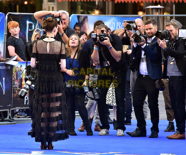 LONDON, ENGLAND - SEPTEMBER 20: Rooney Mara attends the World Premiere of 'Pan' at Odeon Leicester Square on September 20, 2015 in London, England.<br /> CAP/JOR<br /> &copy;JOR/Capital Pictures
