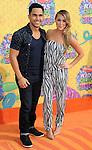 Alexa Vega and Carlos Pena-Vega arriving at the 'Nickelodeon's 27th Kids Choice Awards' held at USC Galen Center, Los Angeles, CA. March 29, 2014.